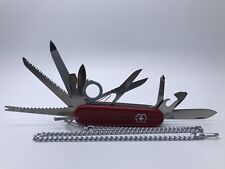 Vintage VICTORINOX Swiss Army Knife Champion #1.5793 With Chain. ~Personalized~
