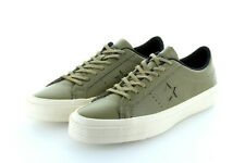Converse Cons One Star Ox Jute Olive Green Parchment Leather Gr. 42,5/43,5 US 9