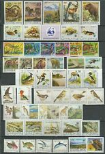 Yugoslavia 1970/90 ☀ Fauna - Animals Birds Bears, fishes ☀ MNH**