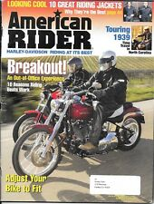 American Rider motorcycle magazine. June 2006. Motorcycling in 1939. Harley.