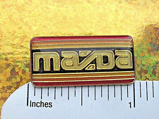 MAZDA emblem  - hat pin ,  lapel pin , tie tac , hatpin GIFT BOXED enamel