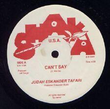 Judah Eskender Tafari/Velma Maxwell - Can't Say (Rare Maxi 12' Vinyle)