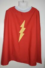 Child's red superhero cape, size 5-8 - handmade