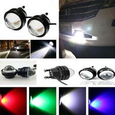 2pc Xenon White 5W High Power Bull Eye DRL Fog Super Light Daytime Driving Light
