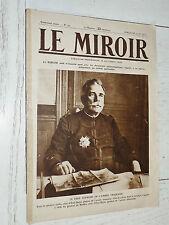 MIROIR 09/08 1914 GUERRE 14-18 JOFFRE ALBERT 1er UNIFORMES ARMEE AUSTRO-HONGROIS
