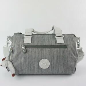 KIPLING PILAR Handbag Shoulder CrossBody Bag Shaded Grey