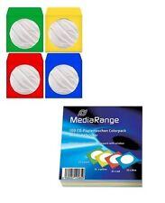 1000 BUSTINE MEDIARANGE x CD DVD vergini in CARTA COLORATA BOX67 (NO PVC)