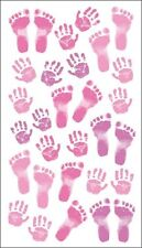 Sticko Dimensional Stickers - Pastel Baby Girl Prints