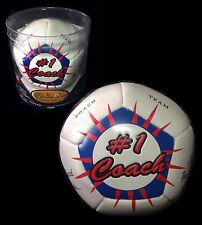 Soccer Teams '#1 Coach' Appreciation Day ~ Soccer Ball Keepsake NEW