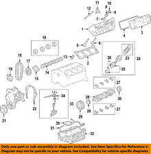 GM OEM Camshaft Cam-Front Cover Gasket 12604474