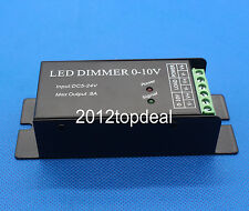 0-10V Dimmer Dimmable Common Anode Controller DC5~24V for LED Light Strip