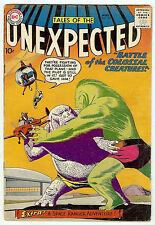 TALES OF THE UNEXPECTED #40 (DC 1959, fn- 5.5) 1st Space Ranger worth $300(£230)