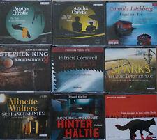 9 verschiedene Hörbücher