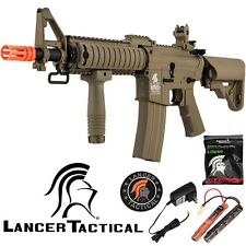 Lancer Tactical FDE LT-02CT Gen 2 400 FPS Auto Electric M4 AEG Airsoft Rifle
