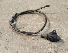 1976 honda MT250 MT 250 Elsinore original clutch cable with rubber guard boot