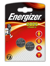 Energizer 2 Pilas Litio CR2025 3 V