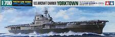 Tamiya 1/700 Yorktown U.S. Aircraft Carrier - TAM-31712