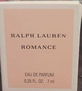 RALPH LAUREN Romance Eau de Parfum Mini EDP Travel Perfume 7 mL 0.25 FL OZ