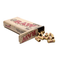 1/2/3 Genuine RAW 100 Pre-Rolled Rolling Tips in Raw Tin - Fastt Free Delivery