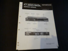 ORIGINALI service manual KENWOOD kt-660/660l