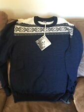 NEW W/TAGS DALE OF NORWAY HEMESDAL SWEATER XXL 100% BUTTER SOFT MERINO WOOL