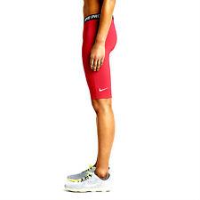 "Nike sz XS Women's 11"" Pro Core Compression Shorts NEW 642648 647 Red / Black"