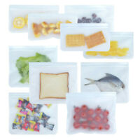 Reusable Silicone Food Storage Bags Seal Food Preservation Bag JF