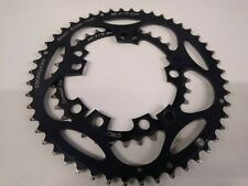 Stronglight Compact Black Chainrings 48x34t 110BCD 9/10 Speed