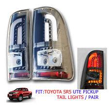 FOR 2005 - 13 2014 TOYOTA HILUX SR5 SR6 TAIL LAMP TAILLIGHTS VIGO LED LIGHT PAIR
