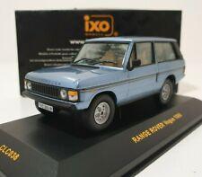 IXO 1/43 Range Rover Vogue 1980 Blue Metallic Rare