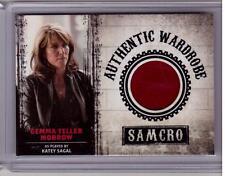 GEMMA TELLER MORROW KATEY SAGAL Sons of Anarchy Material SAMCRO Wardrobe Card 04