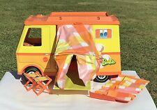 VINTAGE 1970 MATTEL BARBIE COUNTRY CAMPER WITH BOX - 95% COMPLETE - #4994