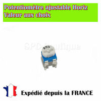 Potentiométre Ajustable (Resistance Variable) Horizontale 500K ohms / 100mW