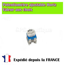 Potentiométre Ajustable (Resistance Variable) Horizontale 10K ohms / 100mW