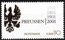 GERMANY 2001 Prussia - 300 Years. History Heraldry. Single, MNH