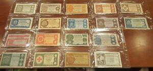 Juego completo 36 decimos Loteria Nacional año 1955 A1
