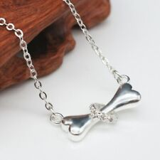 Silver Plated Dog Bone Necklace, UK Seller, BNWT