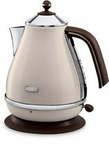 DeLonghi Icona Vintage KBOV2001.BG  Retro Kettle Cream-White Genuine New 1.7 L