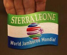 2019 World Scout Jamboree SIERRA LEONNE Contingent badge