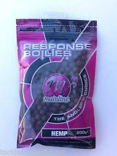 MAINLINE RESPONSE BOILIES 200g - HEMP - FOR CARP, BREAM ETC
