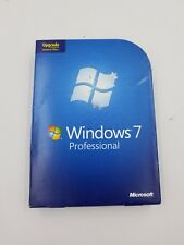 Microsoft Windows 7 Professional Pro Upgrade FQC-00130 GENUINE retail
