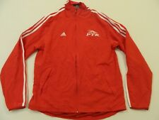 M119 NWT ADIDAS PTR P.T.R Professional Tennis Red Track Jacket Coat MEN'S 2XL
