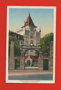 Switzerland - Lausanne Ouchy - Royal Hotel - VENT INTAKE (K7180)