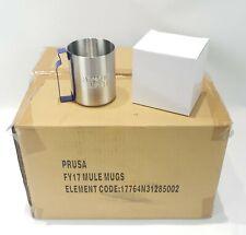 Case of 24 Absolut Vodka Stainless Steel Mule Mugs, Barware/Partyware