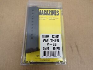 WALTHER MODEL P-38, 9MM, 10 RD Magazine #1338M Made in the USA!