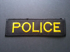 Police Sew or Iron On Patch