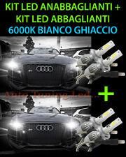 KIT LED LAMPADE ABBAGLIANTI & ANABBAGLIANTI PER AUDI A4 B8 8K 2008-2014