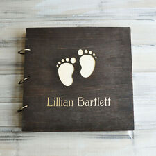 Custom Baptism Guest Book, Christening Picture Guestbook, Baptism Photo Album