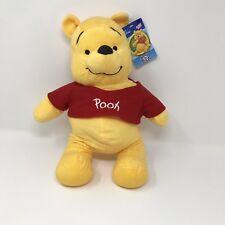 "Winnie the Pooh Plush DISNEY 15""  Sugar Loaf Theme Park Game Prize"