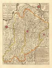 """""""le Comté ET legaton de Boulogne"""". BOLOGNA MODENA IMOLA Ferrara. NOLIN Mappa c1730"""